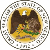 Coat of arms of New Mexico USA