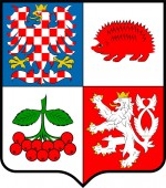 Coat of arms of Vysocina Region in Czech Republic