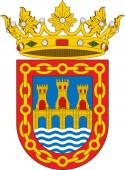 Coat of arms of Tudela in Navarre in Spain