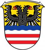 Coat of arms of Wetteraukreis in Hesse Germany