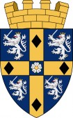 Coat of arms of Durham in England