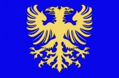 Flag of Alencon in Orne of Normandy is a Region of France