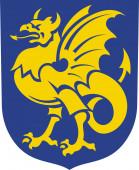 Coat of arms of Bornholm in Denmark