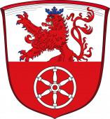 Coat of arms of Ratingen in North Rhine-Westphalia Germany