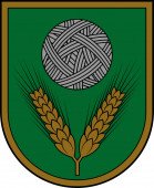 Coat of arms of Rezekne Municipality in Latgale of Latvia