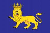Flag of Uppsala is the capital of Uppsala County of Sweden