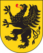 Coat of arms of Pomeranian Voivodeship in north-central Poland
