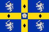 Flag of Durham in England