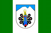 Flag of Tatra County in Lesser Voivodeship of Poland