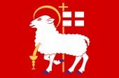 Flag of Visby is a capital city of Gotland County in Sweden
