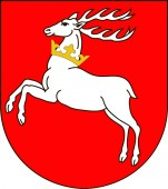 Coat of arms of Lublin in southeastern Poland