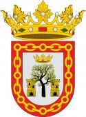 Coat of arms of Olite in Navarre in Spain