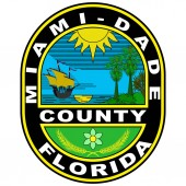 Coat of arms of Miami-Dade County in Florida USA