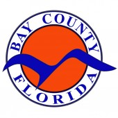 Coat of arms of Bay County in Florida of USA