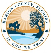 Coat of arms of Marion County in Florida of USA