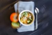 """Постер, картина, фотообои """"Abstract Blured in Motion Food Background"""""""