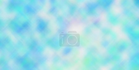 Photo for Nice abstract illustration of blue, green and white bright through tiny glass paint. Nice  for your design. - Royalty Free Image