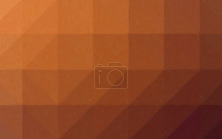 Photo for Abstract illustration of brown Oil Pastel background, digitally generated - Royalty Free Image