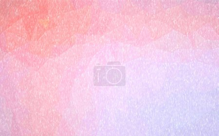 Photo for Abstract illustration of pink and light purple Color Pencil background, digitally generated - Royalty Free Image