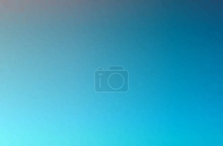 Illustration of blue poligon beautiful multicolor background