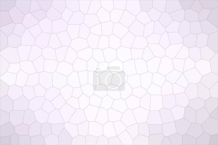 Abstract illustration of anti-flash white Middle size hexagon background, digitally generated