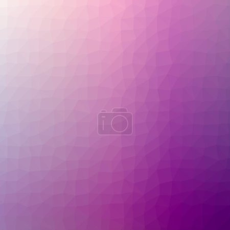 Illustration of abstract low poly pink square background