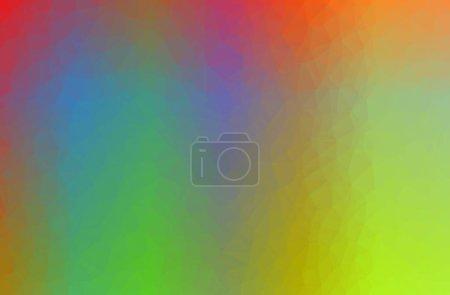 Foto de Ilustración de fondo horizontal poly bajo abstracto verde - Imagen libre de derechos
