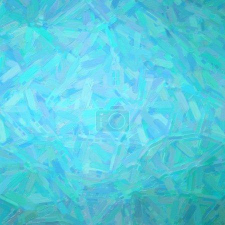 Ilustración de cuadrado aqua Abstracto pintura al óleo fondo