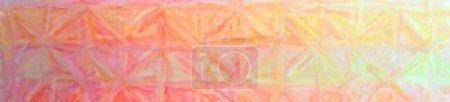 Illustration of orange Long brush Strokes Pastel background, abstract paint