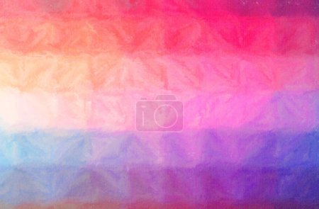 Illustration of purple and red Wax Crayon paint background, digitally generated