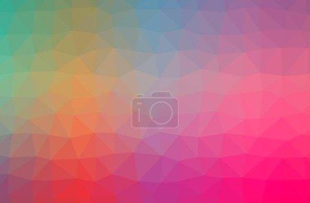 Foto de Ilustración abstracta de fondo rosa horizontal polietileno baja - Imagen libre de derechos