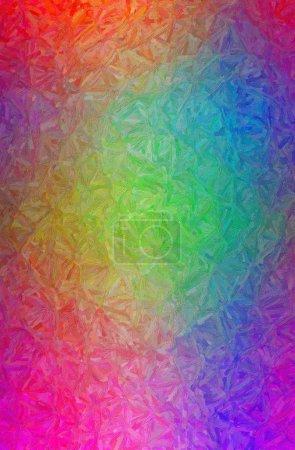 Foto de Resumen ilustración de fondo de empastes de colores azul, verde, rosa. - Imagen libre de derechos