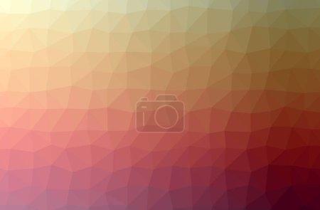 Foto de Ilustración de fondo polivinílico horizontal naranja abstracto. Hermoso patrón de diseño de polígono. Útil para sus necesidades. - Imagen libre de derechos