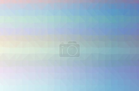 Foto de Illustration of abstract Blue horizontal low poly background. Beautiful polygon design pattern. Useful for your needs. - Imagen libre de derechos
