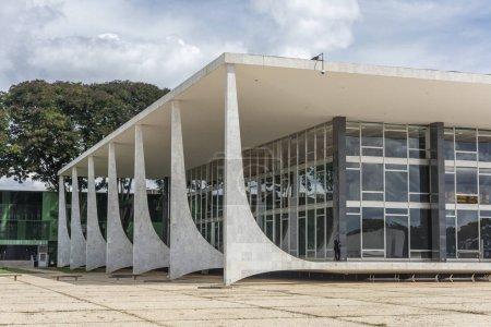 öffentliches Gebäude des Obersten Gerichtshofs in Zentralbrasilien, Bundesbezirk, Hauptstadt Brasiliens