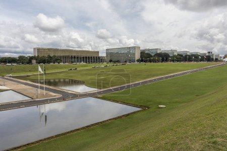 öffentliche Gebäude in Zentralbrasilien, Bundesbezirk, Hauptstadt Brasiliens