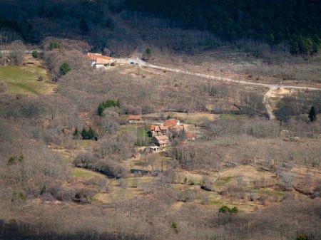 Foto de Beautiful landscape in countryside, Spain - Imagen libre de derechos