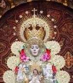 El Rocio, Huelva, Spain - April 30, 2017: Image of virgin