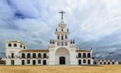 El Rocio hermitage, small village in Almonte, Huelva, Andalusia, Spain