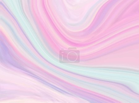 Marble texture background in pastel colors. Tender...