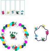 seamless brush of colorful children's boats with balloons bookmarks for books with boats