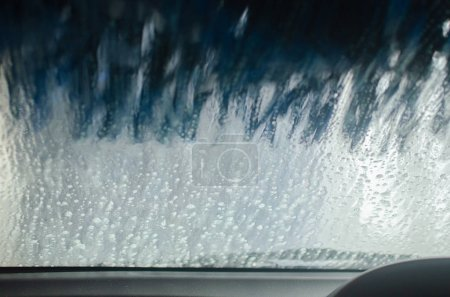 View of a Car Wash from the inside