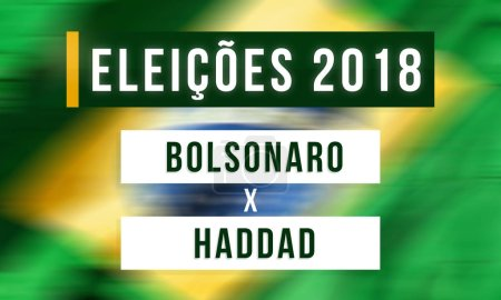 Elections in Brazil between Jair Bolsonaro and Fernando Haddad