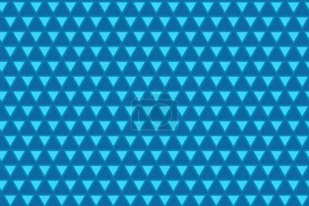 Foto de Close up view of bright blue backdrop with pattern illustration - Imagen libre de derechos