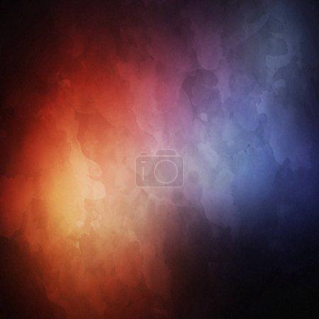 Foto de Close up view of dark space background illustration - Imagen libre de derechos