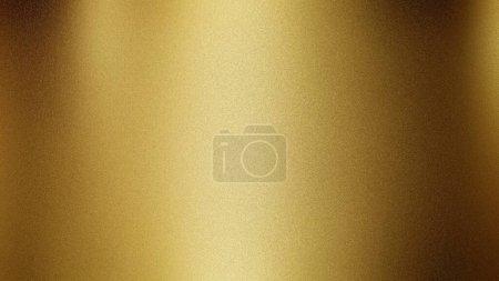 Photo pour Or doré beau métallisé poli fond abstrait brillant avec texture grunge bruit - image libre de droit