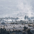 Panoramic view from the top of mountain, Demerdzhi...